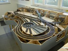 Train Ho, Train Table, Model Train Layouts, N Scale, Model Trains, Diorama, Planer, Building, Crafts