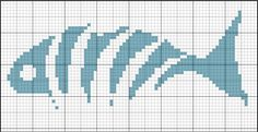 Crochet Stitches Patterns, Loom Patterns, Embroidery Patterns, Cross Stitch Patterns, Pixel Crochet, Crochet Chart, Cross Stitching, Cross Stitch Embroidery, Cross Stitch Sea