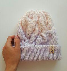 Шапки ручной работы. Заказать Шапка Градиент. knitted manual tenderness. Ярмарка Мастеров. Шапка вязаная, шапка спицами