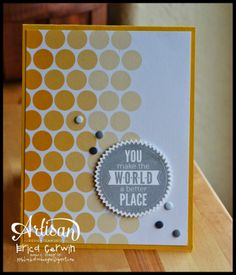 Fantastic card made with Project Life SU pocket cards Scrapbook Paper Crafts, Scrapbook Cards, Scrapbooking, Paint Chip Cards, Hexagon Cards, Project Life Cards, Card Making Inspiration, Inspiration Cards, Cardmaking And Papercraft