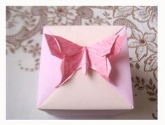 Caixa Tomoko Fuse by Harui Origami, via Flickr