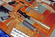 Crazed out weapons....