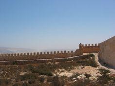 Muur van de kasbah, Agadir