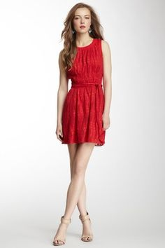 Sleeveless Banded Waist Dress on HauteLook