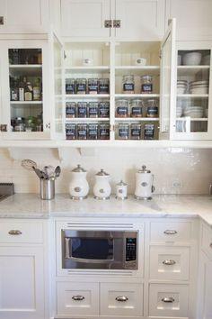 10 Inspiring Kitchens Organized with Glass Jars — Organizing Inspiration   The Kitchn