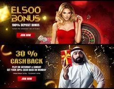 Banner Design, Flyer Design, Web Design, Free Slots Casino, Live Roulette, Gaming Banner, Web Banner, Banners, Game Concept