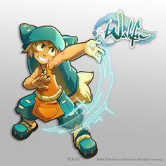 Yugo. Illustration for the serie wakfu.