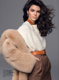 Top model Kendall Jenner lands the November 2016 cover of Vogue Turkey. Photographed by Russell James, Kendall channels 80's style with her hair in voluminous waves and fur jacket. Stylist Konca Aykan selects cozy looks from the new season collections. From luxe fur to waffle-knit sweaters and knit dresses, the brunette stunner shines in each …