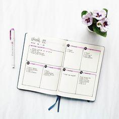 Minimalist weekly log in my Bullet Journal.    #Regram via @www.instagram.com/p/CCyhKS-JnIF/