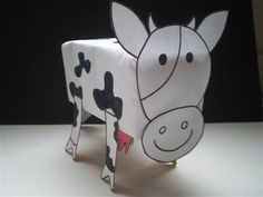 Diy Crafts To Do, Arts And Crafts, Bored Kids, Craft Club, Embroidered Clothes, Animal Crafts, Farm Animals, Squirrel, 3 D