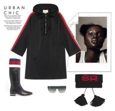 """Sometimes it's just so simple to be you"" by juliabachmann ❤ liked on Polyvore featuring Gucci and Sonia Rykiel"