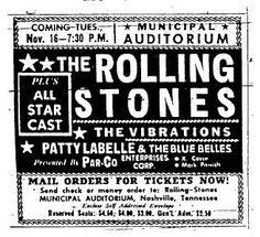 Rolling Stones Concert Poster