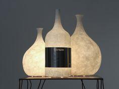 Lampada da tavolo in Nebulite® LUCE LIQUIDA Collezione Luna by In-es.artdesign
