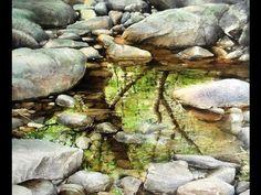 수경쌤의 비밀과외 15편 - 수채화 물 조절 어떻게? (1) how to adjust the amount of water in watercolor painting - YouTube