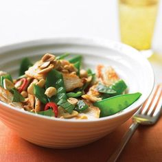 Spicy Chicken stir fry with peanuts