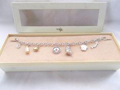 New Silver Cat Lover Charm Bracelet + Charms #LittleGifts