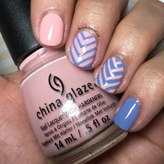 Paint All The Nails Presents Pantone Color Of The Year - The Polished Pursuit Lines On Nails, China Glaze, Color Of The Year, Pantone Color, Nail Ideas, Swatch, Nail Designs, Nail Polish, Presents