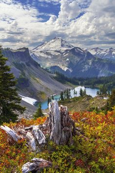 Chain Lakes Trail, Mt Baker Wilderness Area, Washington State, USA ~ Chain Lakes Baker by jasonwilde*