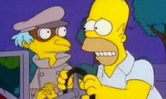 """""""The Trouble with Trillions"""" is the twentieth episode of The Simpson's ninth season. It originally aired on April 5, 1998. When Homer's unfastidious tax return accidentally falls into the severe audit bin at the IRS, he is promptly nabbed by the government. Forced to go undercover for them, Homer finds himself on a mission to retrieve a trillion dollar bill stolen by Mr. Burns."""
