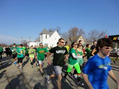 St. Patrick's Day Celebration - Kegs & Eggs Breakfast, Irish Jig 5K, Shamrock Parade, Green Beer and Entertainment...so much more!