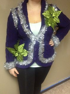 Glamorous Ugly Christmas Sweater XL