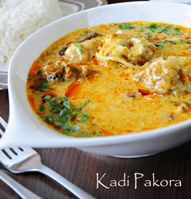 Enjoy the luscious Kadhi Pakora in veg items made by our experts at paldhabaresorts on exciting rates!!