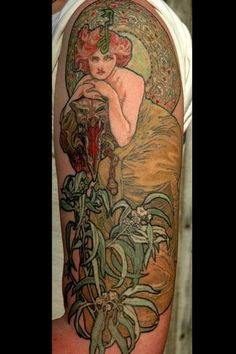 1000 images about mucha art nouveau tattoos on pinterest for Celtic tattoo artists portland oregon