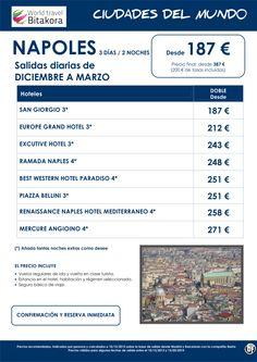 Ciudades del mundo: NAPOLES,  3 días / 2 noches, desde 187 € + tasas ultimo minuto - http://zocotours.com/ciudades-del-mundo-napoles-3-dias-2-noches-desde-187-e-tasas-ultimo-minuto/