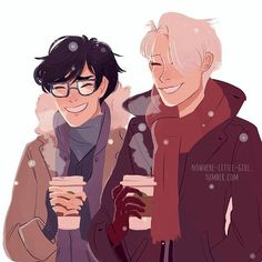 suddenly I crave for hot chocolate  artist: nowhere-little-girl #anime #animeyaoi #yurionice #yuriplisetsky #yuurikatsuki #viktornikiforov #maccachin #gay #otp #yaoi #GayLove #boylove #seme #uke #gaykiss #gayanime #boyxboy #vikturi #viktorxyuuri #katsudon