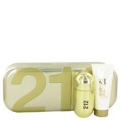 212 Vip by Carolina Herrera Women's Gift Set -- 1.7 oz Eau De Parfum Spray + 3.4 oz Body Lotion - 100% Authentic. 100% Genuine Product. 100% Authentic Product. Long lasting Fragrance. Brand New Item. We do not sell knockout products. So no worries about the authenticity.