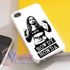 UFC Rowdy Ronda Phone Cases For iPhone 4/4s Cases, iPhone 5 Cases, iPhone 5S/5C Cases, iPhone 6 cases & Samsung Galaxy S2/S3/S4/S5 Cases Cases Iphone 6, Iphone 5s, Ufc, Rowdy Ronda, Samsung, Sports, Shopping, Hs Sports, Sport