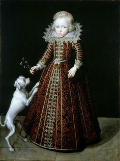 Ulrik, Prince of Denmark, by Jacob van Doort (or Van Doordt) (Dutch, 1590-1629), 1615.