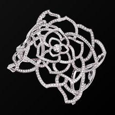 Brazalete puño Oro blanco Diamante - PIAGET Joyas y Alta Joyería G36L5400