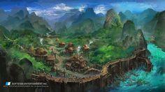 ArtStation - Xuan Yuan Sword, Jun Li Liu