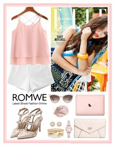 """""""Romwe 8"""" by amra-f ❤ liked on Polyvore featuring GUESS, Emporio Armani, River Island, Kate Spade, Gucci and romwe"""