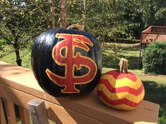 Celebrate the Fallidays with Florida State pumpkins!