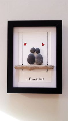 Legende – Hochzeitsgeschenk ideen Legend Legende (notitle) The post Legende appeared first on Wedding gift ideas. Stone Crafts, Rock Crafts, Crafts To Sell, Diy And Crafts, Crafts For Kids, Arts And Crafts, Paper Crafts, Handmade Wedding, Diy Wedding