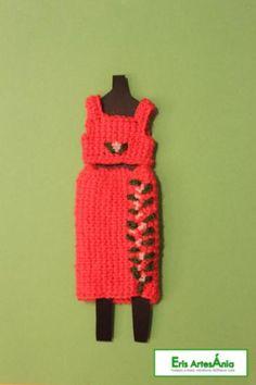 conjunto de ropa para blythe ropa blythe algodón ganchillo