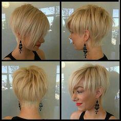 Gib deinen Haare den modischen Pfiff! Ganz schicke Kurzhaarfrisuren.