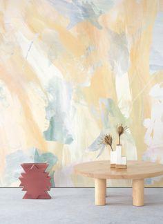 Calico Wallpaper Nursery Wallpaper, Wallpaper S, Faye Toogood, Beni Rugs, Magical Thinking, Green Carpet, Self Adhesive Wallpaper, Home And Deco, Tool Design