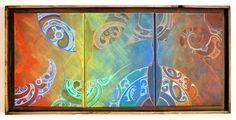 Russell Wilson Kura Gallery Maori Art Design New Zealand Painting Maori People, Maori Designs, New Zealand Art, Nz Art, Maori Art, Kiwiana, Russell Wilson, Canvas Ideas, Native Art