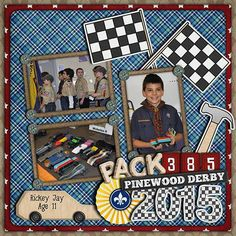 Derby Day Mini Derby Day Wooden Alpha Derby Day Checkered Alpha Pack numbers from Yours in Scouting  all by Laura Banasiak at Scrap Orchard