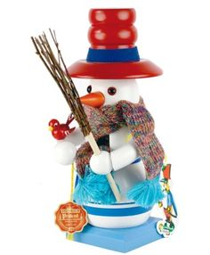 Steinbach Chubby Snowman Nutcracker