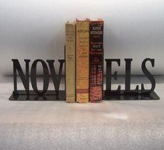 Novels bookends