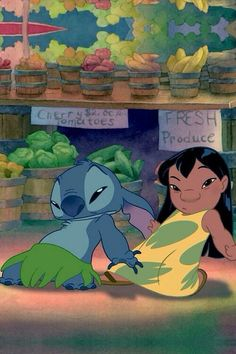 Lilo and Stich Disney Stitch, Lilo Y Stitch, Disney Duos, Disney Art, Cartoon Profile Pictures, Cartoon Pics, Disney Animation, Disney And Dreamworks, Disney Pixar
