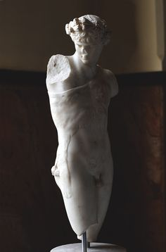Antinous as Dionysus. Pentelic marble. Inv.No. M.C. 897 / II.78. Rome, Capitoline Museums, Museum Montemartini (Centrale Montemartini). (Photo by I. Sh.).