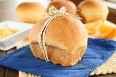 Sweet Potato Bread with Orange Cinnamon Honey Butter