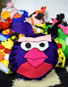 Art with Ms. Gram: Angry Birds Pop Art Plushies (5th)