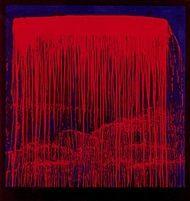Berlin Waterfalls (Night Swing) by Pat Steir