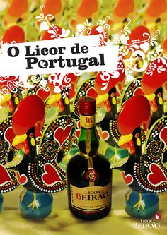Licor Beirão by BOX , via Behance this is made in my home town Lousa Portugal !!!